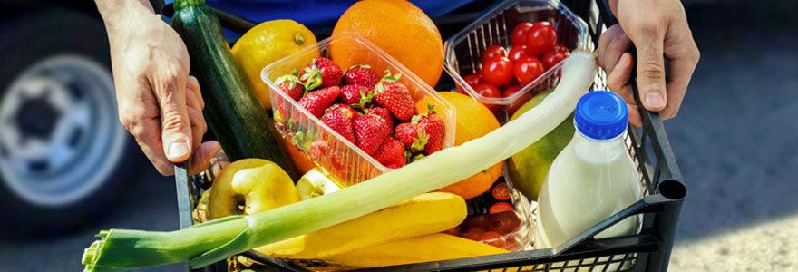 Livraison de fruits en entreprise